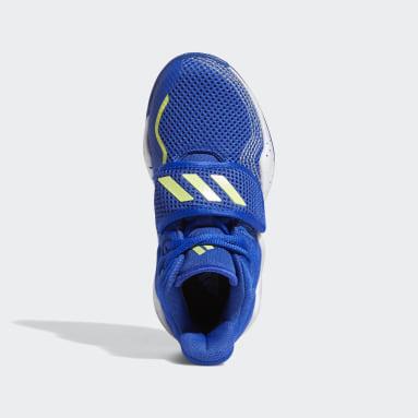 Children Basketball Blue Deep Threat Primeblue Shoes