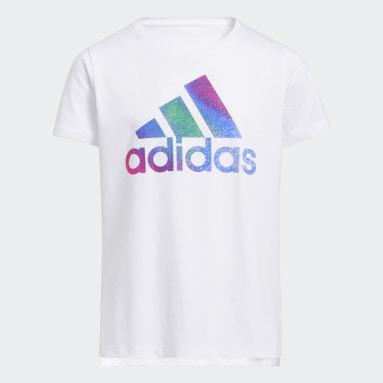 T-shirt Graphic Vent blanc Adolescents 8-16 Years Entraînement
