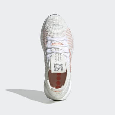 Women's Running White Pulseboost HD Shoes