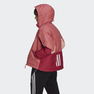Dames City Outdoor Roze Back to Sport Insulated Jack