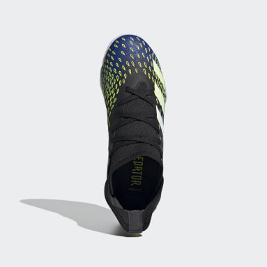 Boys Football Black Predator Freak.3 Indoor Boots