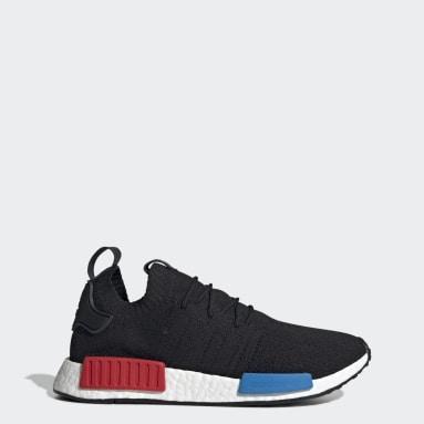 Originals Black NMD_R1 Primeknit Shoes