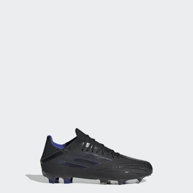 Children Soccer Black X Speedflow.1 Firm Ground Cleats