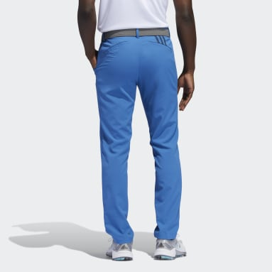 Men Golf Blue Recycled Content Tapered Golf Pants