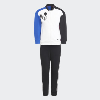 Kids 4-8 Years Gym & Training White Disney Mickey Mouse Jogger