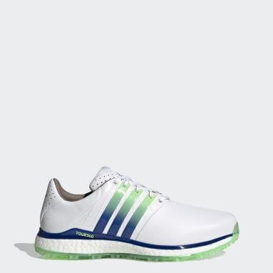 Men's Golf White TOUR360 XT-SL 2.0 Spikeless Golf Shoes