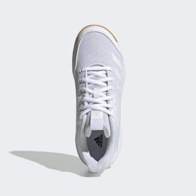 Kids Table Tennis White Ligra 6 Shoes