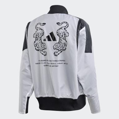VRCT Oversize Jacket Bialy