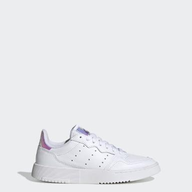 Kids Originals White Supercourt Shoes
