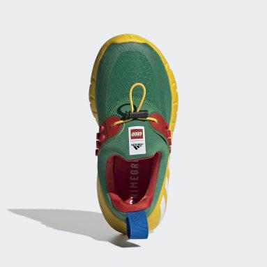 Zapatilla adidas x LEGO® RapidaZen Slip-On Verde Niño Gimnasio Y Entrenamiento