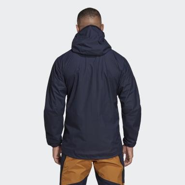 Mænd TERREX Blå Agravic 3L jakke