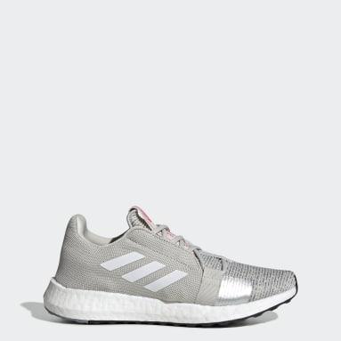ผู้หญิง วิ่ง สีเทา รองเท้า Senseboost Go