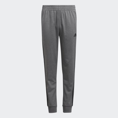 Youth Training Grey Heather Tricot Joggers