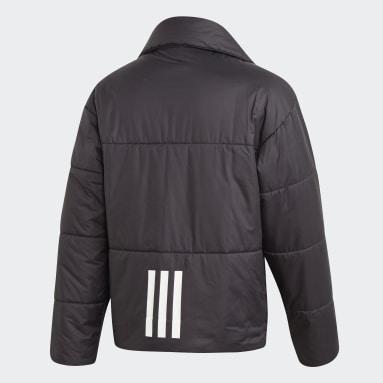 Herr City Outdoor Svart Big Baffle Jacket