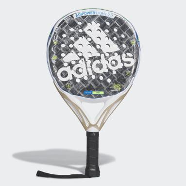 Padel Tenis šedá Raketa Adipower Light 2.0 Padel