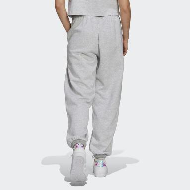 Pantalon Logo Play Cuff Gris Femmes Originals