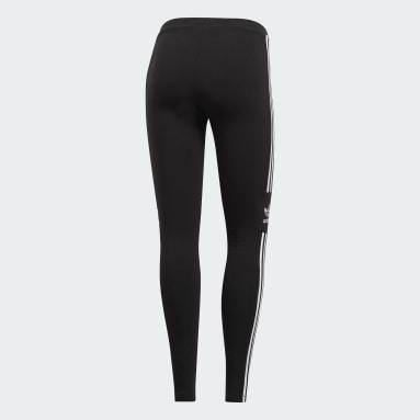 Dames Originals Zwart LOUNGEWEAR Trefoil Legging