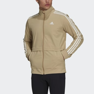Men Cycling Beige The COLD.RDY Trackstand Cycling Jacket