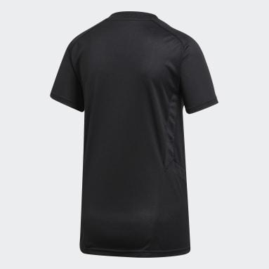 Camiseta entrenamiento Tiro 19 Negro Mujer Fútbol