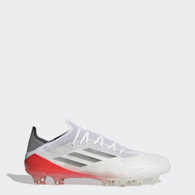 Football White X Speedflow.1 Artificial Grass Boots