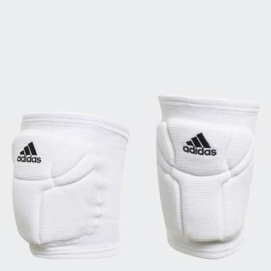 Volleyball Hvid Elite Volleyball knæbeskyttere