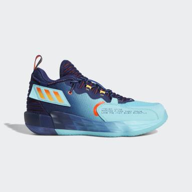 Basketball Blue Dame 7 EXTPLY: DAME TIME Shoes