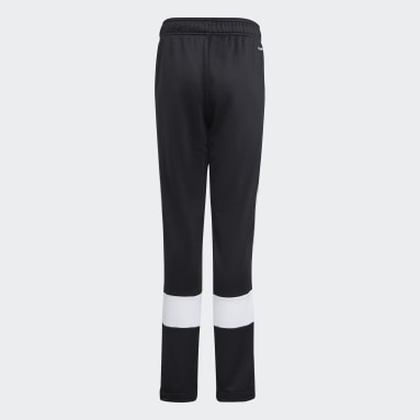 Boys Training Black 3-Stripes AEROREADY Primeblue Pants