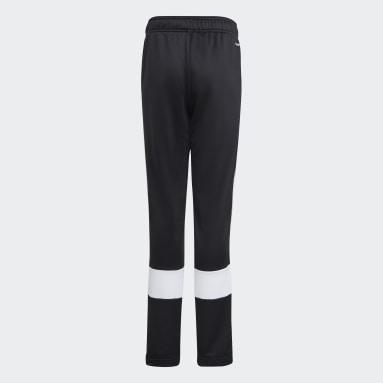 Pants 3 Franjas AEROREADY Primeblue Negro Niño Training