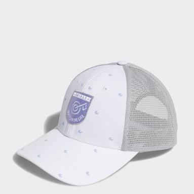 Women Golf White Trucker Hat