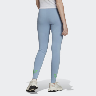 Legging Adicolor Shattered Trefoil Azul Mulher Originals