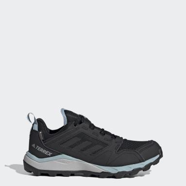 Women TERREX Black Terrex Agravic TR GORE-TEX Trail Running Shoes