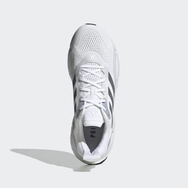 Men Running White SolarBoost 3 Shoes