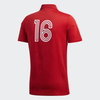 Playera Bélgica Rojo Hombre Originals