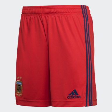 Shorts de Arquero Titular Argentina 21 Rojo Hombre Fútbol