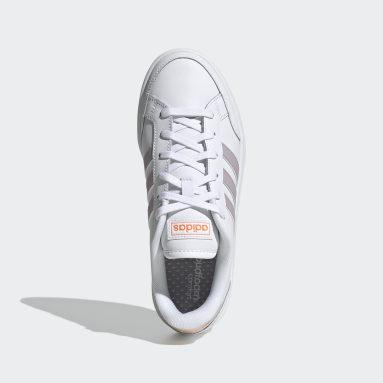 Women Sport Inspired White Grand Court SE Shoes