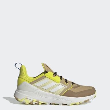 Men's TERREX Beige Terrex Trailmaker Primegreen Hiking Shoes