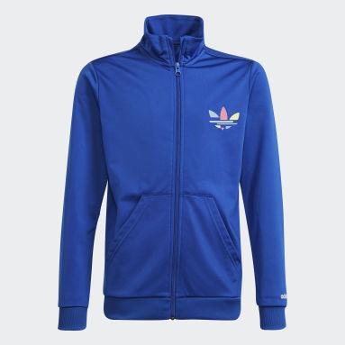 Kinder Originals Adicolor Originals Jacke Blau