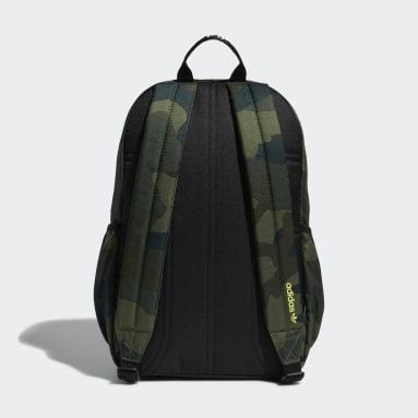 Originals Green Trefoil Backpack