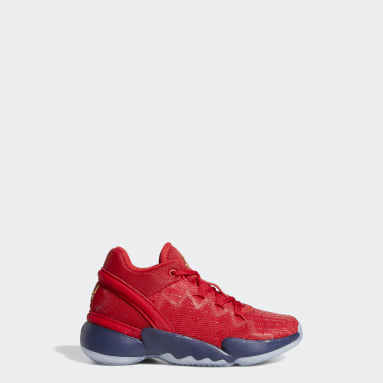 Children Basketball Red D.O.N. Issue #2 Shoes