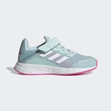 Kids 4-8 Years Running Green Duramo SL Shoes