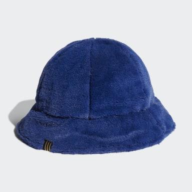 Cappellino adidas SPRT Faux Fur Bucket Blu Originals