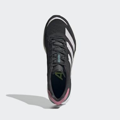 Chaussure Adizero Adios 6 Gris Femmes Running