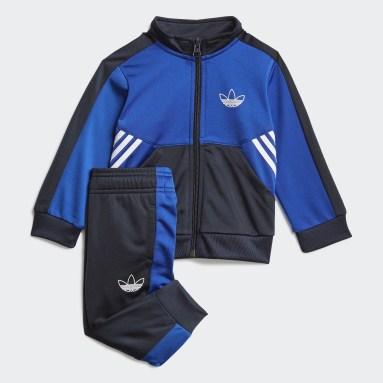 Děti Originals modrá Sportovní souprava adidas SPRT Collection