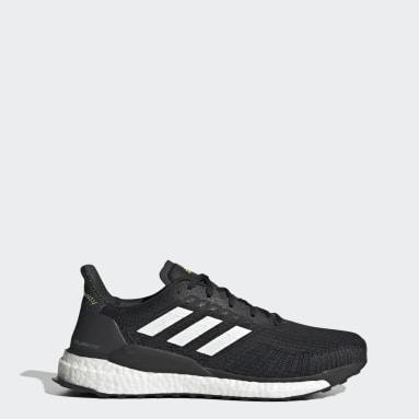 Men Running Black Solarboost 19 Shoes