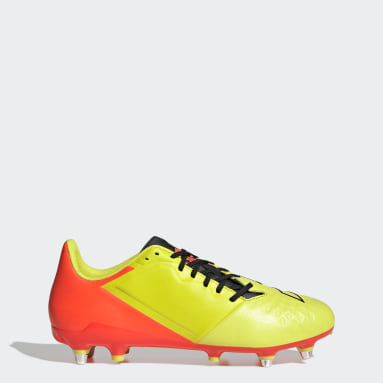 Rugby Yellow Malice Elite Boots SG