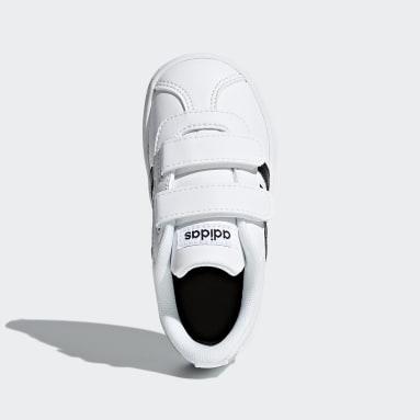 Tenis VL adidas Court 2.0 Blanco Niño Lifestyle
