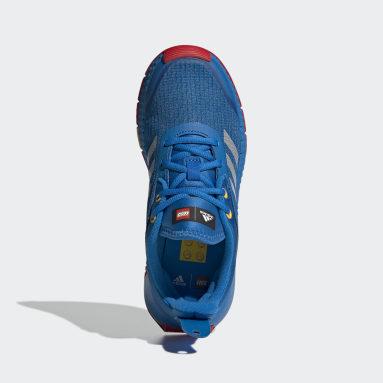 Barn Löpning Blå adidas Sport x Classic LEGO® Shoes