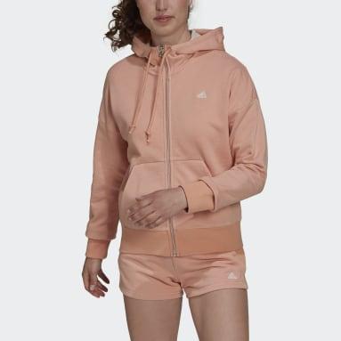 Women's Sportswear Pink adidas Sportswear Seasonals Stadium Hooded Track Jacket