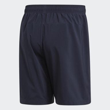 Shorts Essentials Linear Chelsea Azul Homem Estilo Esportivo