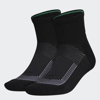Chaussettes Recycled Superlite Quarter (2paires) noir Hommes Entraînement